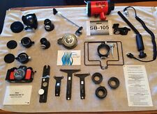 PRISTINE Nikonos V complete kit with 3 lenses (15, 28 and 35) and Pelican Case