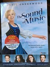The Sound of Music Live! (VHS) 2013 NBC broadcast of musical w/Carrie Underwood