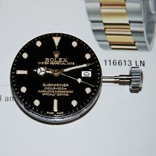Rolex Submariner Set, Movement Cal.1570, Dial & Hands 2Ton, Ref.1680-16800-16613
