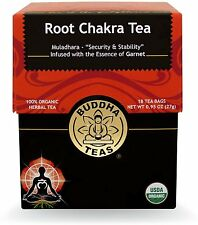 Root Chakra Tea, Buddha Teas, 18 tea bag 1 pack