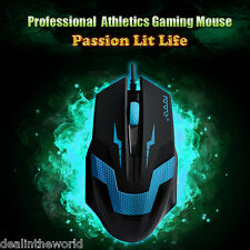 Optical 1600 DPI Wired 3D Competitive & Professional Athletics Gaming Mouse