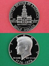 Clad 1976 S Proof John Kennedy Half Dollar Ultra Deep Cameo Flat Rate Shipping