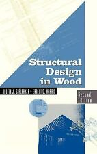VNR Structural Engineering: Structural Design in Wood by Ernest C. Harris and...