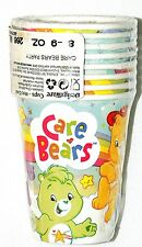 NEW BABY  CARE BEARS CLOUDS 8 PAPER CUPS PARTY SUPPLIES