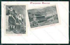 Cagliari Carbonia Iglesias Sulcis Costumi Miniere cartolina QT2437