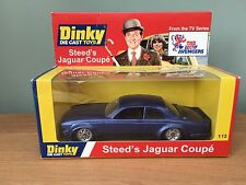 The Avengers John Steeds Jaguar Big Cat Dinky code 3  boxed.