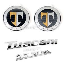 OEM Tuscani 2.7 Elisa Hood Trunk Emblem for HYUNDAI 2001-2007 2008 Tiburon Coupe