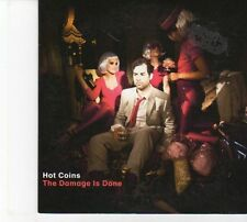 (DW622) Hot Coins, The Damage Is Done - 2013 DJ CD