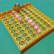 63 Automatic Turner Hatch Chicken Duck Quail Bird Eggs Poultry Tray Incubator