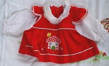 True Vintage 60s - Infant Baby Girl - Christmas Candy Cane & Lolly Pop Dress
