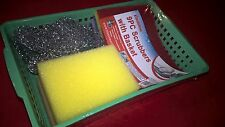 NEW FAMILYMAID 9PC SCRUBBERS WITH BASKET ITEM;12021