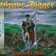 "GRAVE DIGGER ""TUNES OF WAR REMASTERED 2006"" CD NEUWARE"