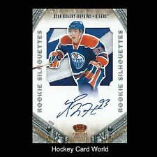 (HCW) 2011-12 Crown Royale Silhouettes RYAN NUGENT-HOPKINS Patch 13/25 Auto RC