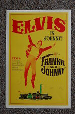 Elvis Lobby Card Movie Poster Frankie & Johnny