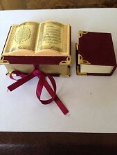 Beautiful Mini-Complete Quran in Velvet box decor