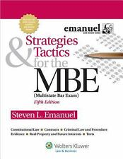 Strategies and Tactics for the MBE by Steven Emmanuel, Fifth Edition
