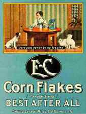 A4 Photo Unknown Poster Advertising 1910 Cornflakes Print Poster