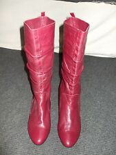 New Emotion Ladies Leather Boots Size 4