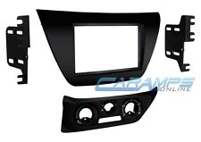 NEW DOUBLE 2 DIN CAR STEREO RADIO CD PLAYER DASH INSTALLATION TRIM MOUNTING KIT