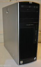 Hp Xw6600 Workstation Pc Quad Xeon Cpu 2.00 Ghz 4gb Ram 500gb Win 7 Wifi