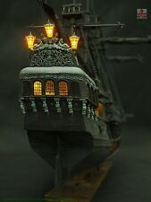 ZHL all-scenario version of the black pearl ship model kits