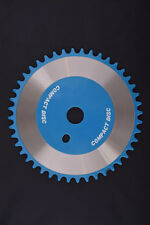 44 TOOTH BMX SPROCKET CD TORQUE CONVERTER TYPE ONE PIECE CRANK BLUE  C1334B