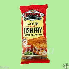 LOUISIANA FISH FRY 6 Bags x 10oz CAJUN CRISPY SEAFOOD BREADING MIX