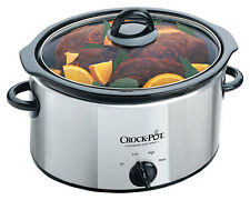 Crock-Pot SCV400PSS 3.5L Stainless Steel Slow Cooker