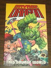 Savage Dragon This Savage World Vol 15 Erik Larsen (Paperback)  9781582403120