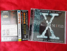 MUSIC FROM THE X FILES MARK SNOW / JAPAN CD with OBI JAPANESE / UK DESPATCH RARE