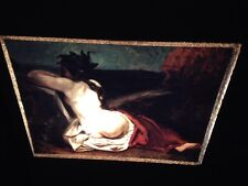 """Gustave Courbet """"Reclining Nude"""" French Realism 35mm Art Slide"""