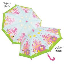 Floss & Rock Colour Changing Princess Kids Umbrella Manual Opening Girls Gift