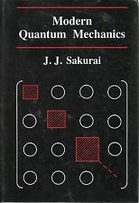 J J SAKURAI MODERN QUANTUM MECHANICS FIRST EDITION PICTORIAL HARDBACK 1985