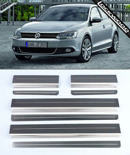 VW Jetta MK6 (released approx 2011) Stainless Steel Kick Plate Sill Protectors