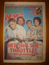 NME 1993 APR 10 NEW ORDER BLUR SPRINGSTEEN EAST 17 RAGE