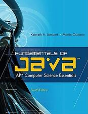 Fundamentals of Java(TM): AP* Computer Science Essentials by Kenneth Lambert, M