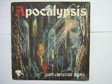 JEAN-CHRISTIAN MICHEL 45 TOURS FRANCE APOCALYSIS