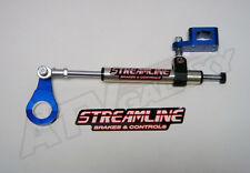Streamline Blue 7 Way Steering Stabilizer Damper Yamaha YFZ450 YFZ 450 All Years