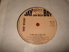 "RUBY WILSON A man and a baby boy c/w Sky high 7"" POP SOUL FUNK"