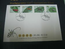 TAIWAN FDC - `LONG-HORNED BEETLES'