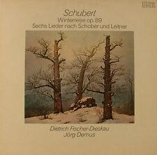 SCHUBERT WINTERREISE OP.89 SECHS LIEDER NACH SCHOBER UND LEITNER ETERNA  (h592)