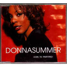 Donna SUMMER Con Te Partiro - Mexican 2-track promo jewel case MAXI CD PRCD97711