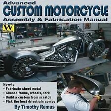 """NEW"" Advanced Custom Motorcycle Assembly & Fabrication Manual ""WE SHIP IN BOXES"