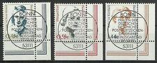 BRD/ Frauen MiNr 2295/97 o Ersttagstempel/ Eckrand rechts unten