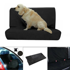 New 2pcs WATER RESISTANT REAR CAR SEAT PROTECTOR COVER FOR BASE/BACK OF SEATS