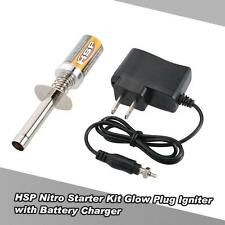 Best HSP Nitro Starter Kit Glow Plug Igniter w/ Battery Charger for HSP Car S2Q5