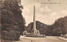POSTCARD   SOMERSET   BATH    The  Obelisk  Victoria  Park