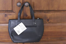 Initials, Inc. Handbag Genuine Leather - Black Made in France
