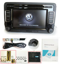 VW Autoradio RCD510 MIT RVC 6CD AUX MP3 USB-Kabel GOLF PASSAT CC GTI POLO TOURAN