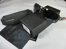 TAG HEUER SPEEDWAY SUNGLASSES 0201 102 Black & Red Frame/Grey Outdoor Lens